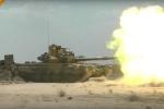 'Quái vật bọc thép' T-90 của Nga trơ mình hứng 'mưa' tên lửa