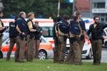 Clip nghi phạm khủng bố Đức xả súng điên cuồng vào người dân