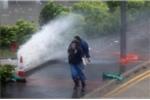 Video: Siêu bão Hato thổi lật nhà, bay ô tô ở Trung Quốc