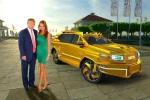 Ngắm siêu xe bọc vàng dành riêng cho 'Tổng thống Trump'