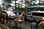 Hiện trường vụ tai nạn thảm khốc 7 người chết trên đèo Prenn - Lâm Đồng