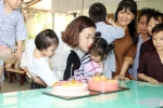 Maya được tổ chức sinh nhật khi đi từ thiện