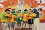 Xem học sinh tiểu học Hà thành tranh tài điều khiển robot điêu luyện