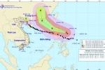 Tin bão mới nhất: Sarika suy yếu thành áp thấp nhiệt đới, Haima uy hiếp Biển Đông