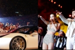 Hồ Ngọc Hà – Noo Phước Thịnh mang 2 siêu xe lên sân khấu khiến khán giả choáng ngợp
