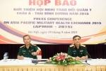 Việt - Mỹ tổ chức hội nghị Trao đổi quân y Châu Á-Thái Bình Dương