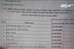 Hà Nội: Trường THPT kêu gọi đóng góp 100 triệu đồng để mua một... tảng đá