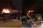 Gara ô tô cháy nổ khủng khiếp tại Hà Nội