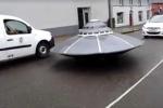 Video: Nghẹt thở xem cảnh sát đuổi theo UFO ở Ireland
