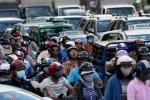 Sài Gòn lại kẹt xe kinh hoàng ngày cận Tết