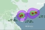 Áp thấp nhiệt đới kép đe dọa miền Bắc