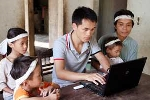 Rớt nước mắt giao lưu trực tuyến về lũ lụt miền Trung