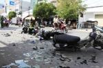 Xe tải tông hai xe máy, một người bị cán chết tại chỗ