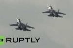 Clip: 'Chim thép' Su-30SM của Nga sải cánh, 'xé toạc' bầu trời