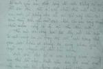 Sát hại vợ dã man vì một bức thư tình