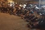 'Quái xế' chạy mô tô phân khối lớn, ép xe đặc chủng CSGT ở Cần Thơ