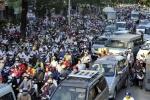 Cấm xe máy: 5 thành phố lớn sắp đưa ra lộ trình
