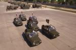 Video: Mãn nhãn xem quân nhân Nga phô diễn tuyệt kỹ lái xe tại hội thao quân sự 2017