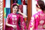 Thụy Vân thử váy áo chuẩn bị làm MC chung kết Hoa hậu Việt Nam 2016