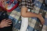 Học sinh gãy chân khi chơi trong sân trường: Đã xác định tài xế gây tai nạn