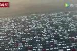 Clip: Kinh hoàng cảnh tắc nghẽn sau kỳ nghỉ Tết ở Trung Quốc