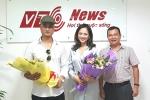 Hương 'Phố', Hoàng 'Mặt sắt' đang livestream với độc giả VTC News
