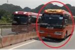 Truy tìm tài xế xe khách chạy ngược chiều trên quốc lộ 1A