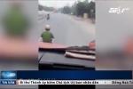 Tạm đình chỉ công tác thiếu úy công an gọi điện khi lái xe