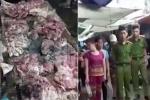 Công an Hải Phòng truy tìm kẻ mọi rợ hắt dầu nhớt trộn chất thải vào người bán thịt