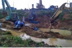 Lần thứ 13 đường ống nước sông Đà bị vỡ