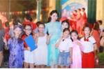 Hoa hậu Ngọc Anh đón Trung thu cùng trẻ em khiếm thị