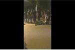 Một công an bị hành hung giữa đường