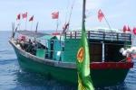 Hàng loạt tàu cá Trung Quốc xâm phạm sâu lãnh hải Việt Nam