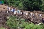 Sạt lở đất ở Yên Bái, 5 người thương vong