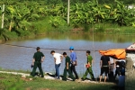 Truy bắt nhóm thanh niên dùng súng hoa cải bắn vào chòi canh đầm tôm
