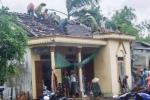 Bão số 4 kèm lốc xoáy ở Hà Tĩnh: 2 người bị thương, nhiều nhà dân bị tốc mái