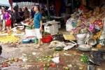 Xe biển xanh mất lái, lao thẳng vào chợ, 5 người thương vong ở Thanh Hóa