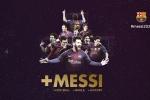 Chính thức: Messi gia hạn hợp đồng với Barca đến năm 2021