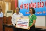 Công ty NutiFood hỗ trợ đồng bào lũ lụt miền Trung