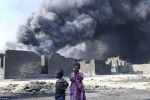 Cuộc sống khắc nghiệt của những đứa trẻ Mosul ngày chiến sự