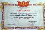 Lãnh đạo tiểu học Tân Phương phân trần về giấy khen lạ