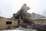 Làng ở Kyrgyzstan đổ nát sau vụ rơi máy bay Thổ Nhĩ Kỳ