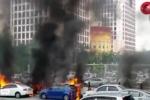 Clip: Kinh hoàng ném bom đánh ghen ở Malaysia