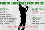 DongDo University Open cup 2016 - Giải golf thường niên của trường Đại học Đông Đô