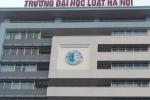Đầu tư hơn 1.700 tỷ đồng xây dựng cơ sở 2 Đại học Luật Hà Nội