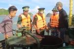 Bắt giữ tàu chở 40.000 lít dầu bất hợp pháp trên vùng biển Hải Phòng