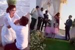 Nguyệt Ánh ôm mẹ khóc trong đám cưới với chồng Ấn Độ