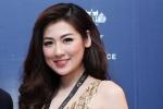 Á hậu Tú Anh diện váy ôm sát khoe đường cong gợi cảm