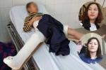 Video: Giáo viên trường Nam Trung Yên nói gì về vụ học sinh bị gãy chân?