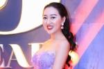 Hoa hậu Huỳnh Thúy Anh nổi bật với đầm xuyên thấu tại sự kiện